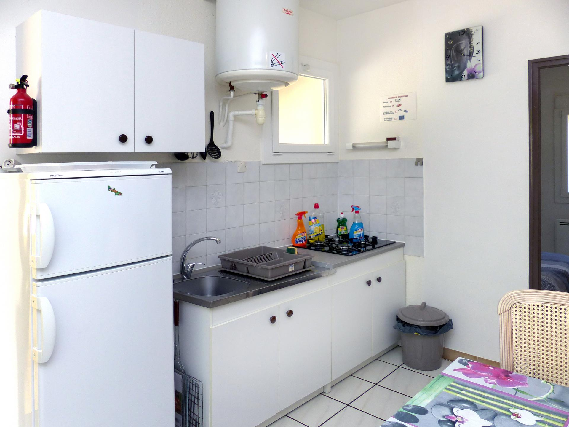 Cuisine appartement 2 chambres