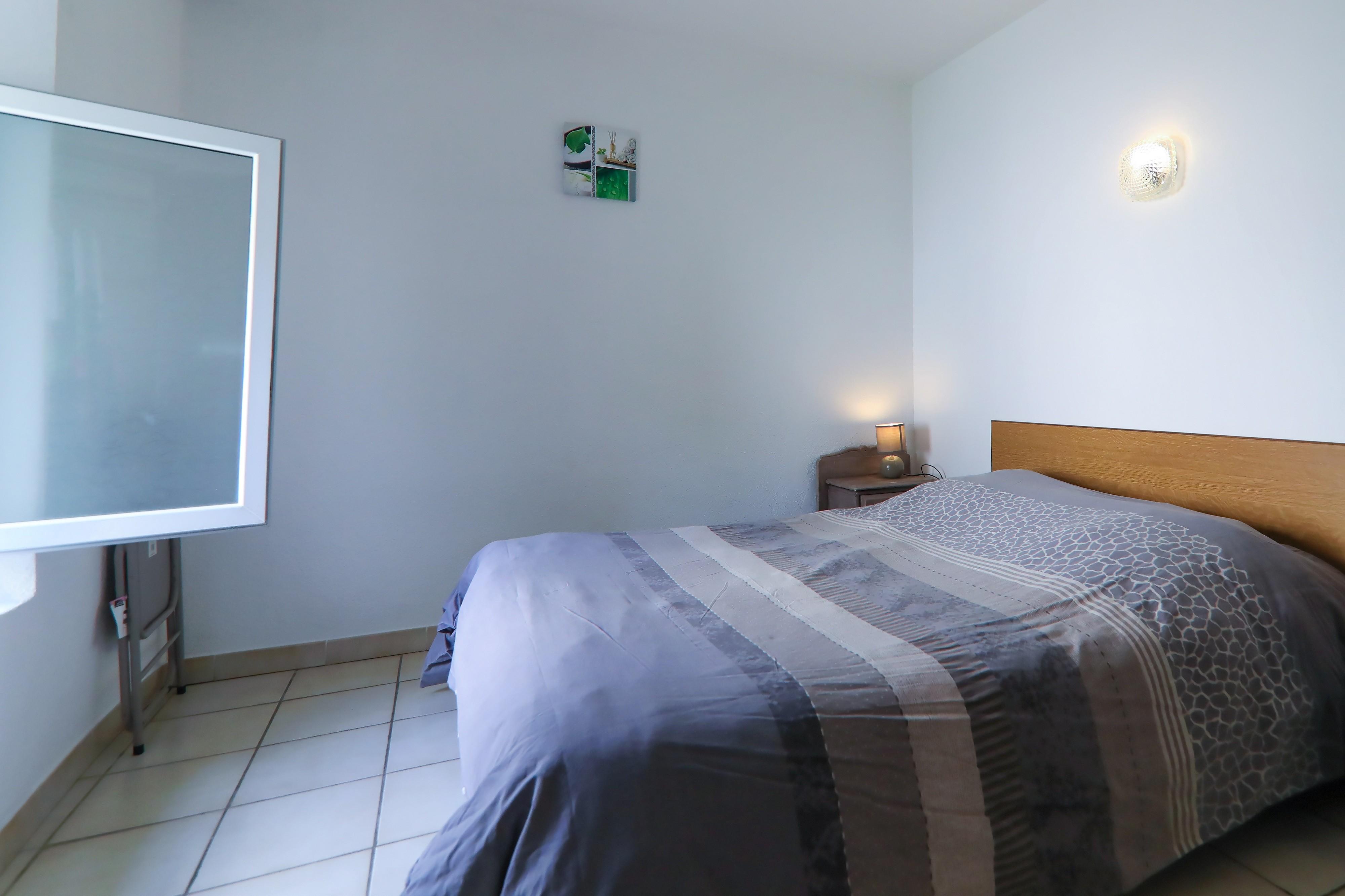 Coté chambre Appart n°3 RDC