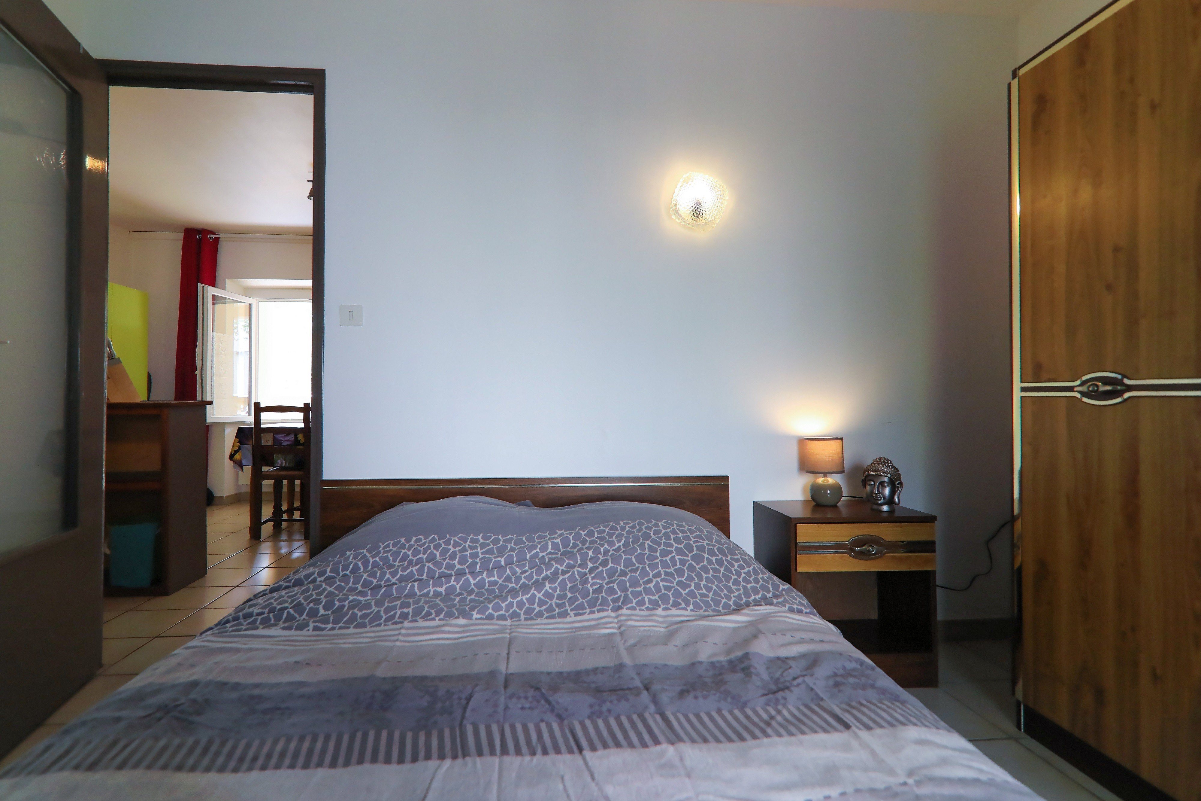 Coté chambre Appart n°4 RDC