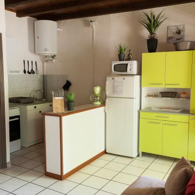 Coté cuisine Appart n°10 au 1er étage