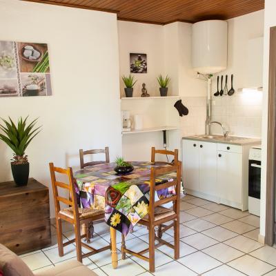 Coté cuisine Appart n°11 au 1er étage