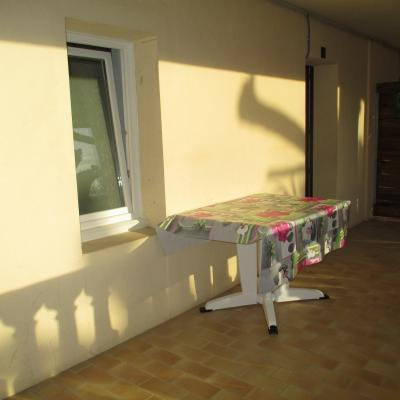 Coté terrasse Appart n°2 RDC