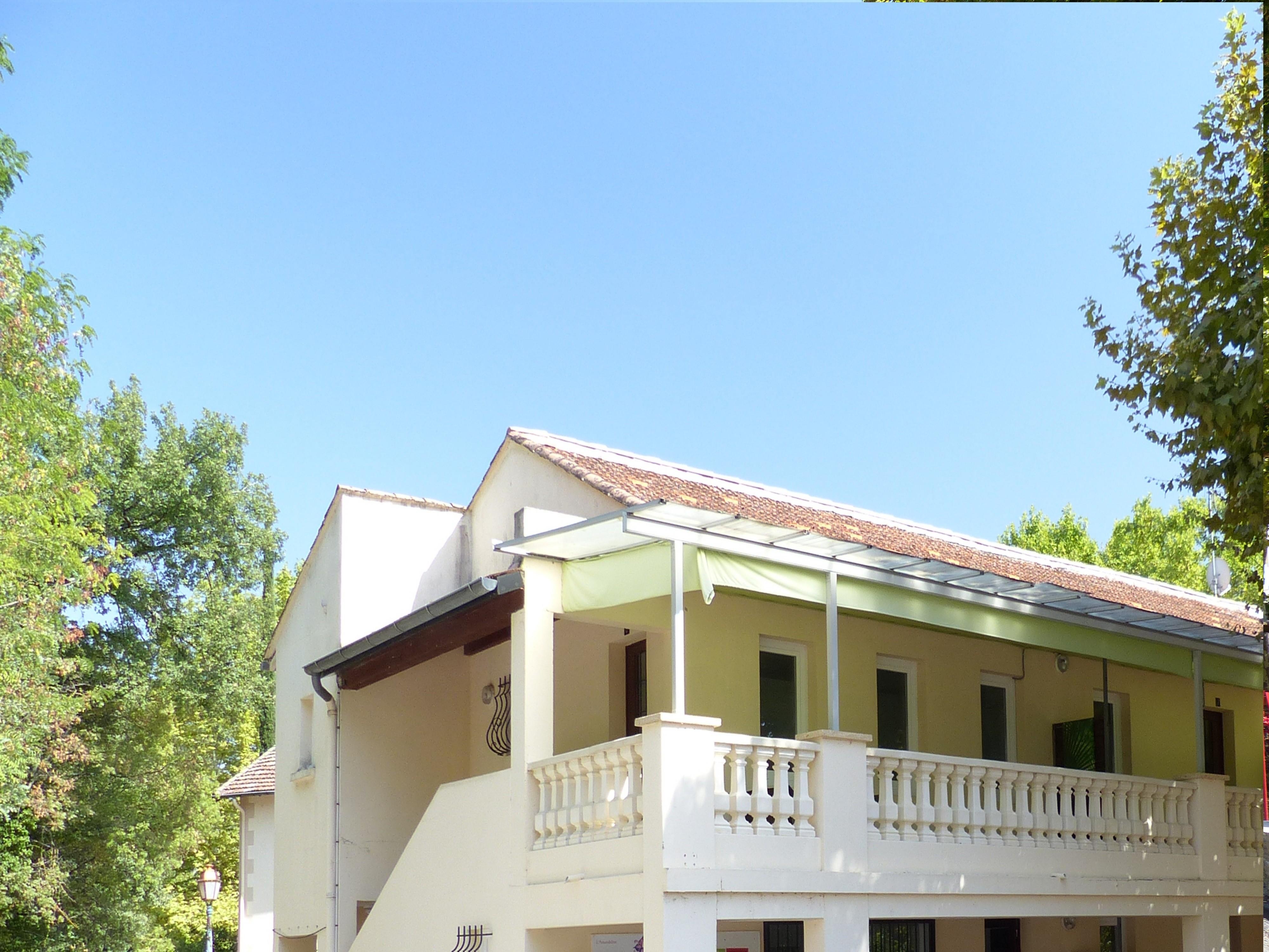 Coté terrasse Appart n°6 - 2 chambres au 1er étage