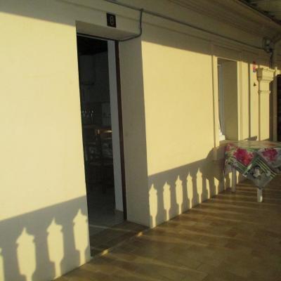 Coté terrasse Appart n°8 au 1er étage