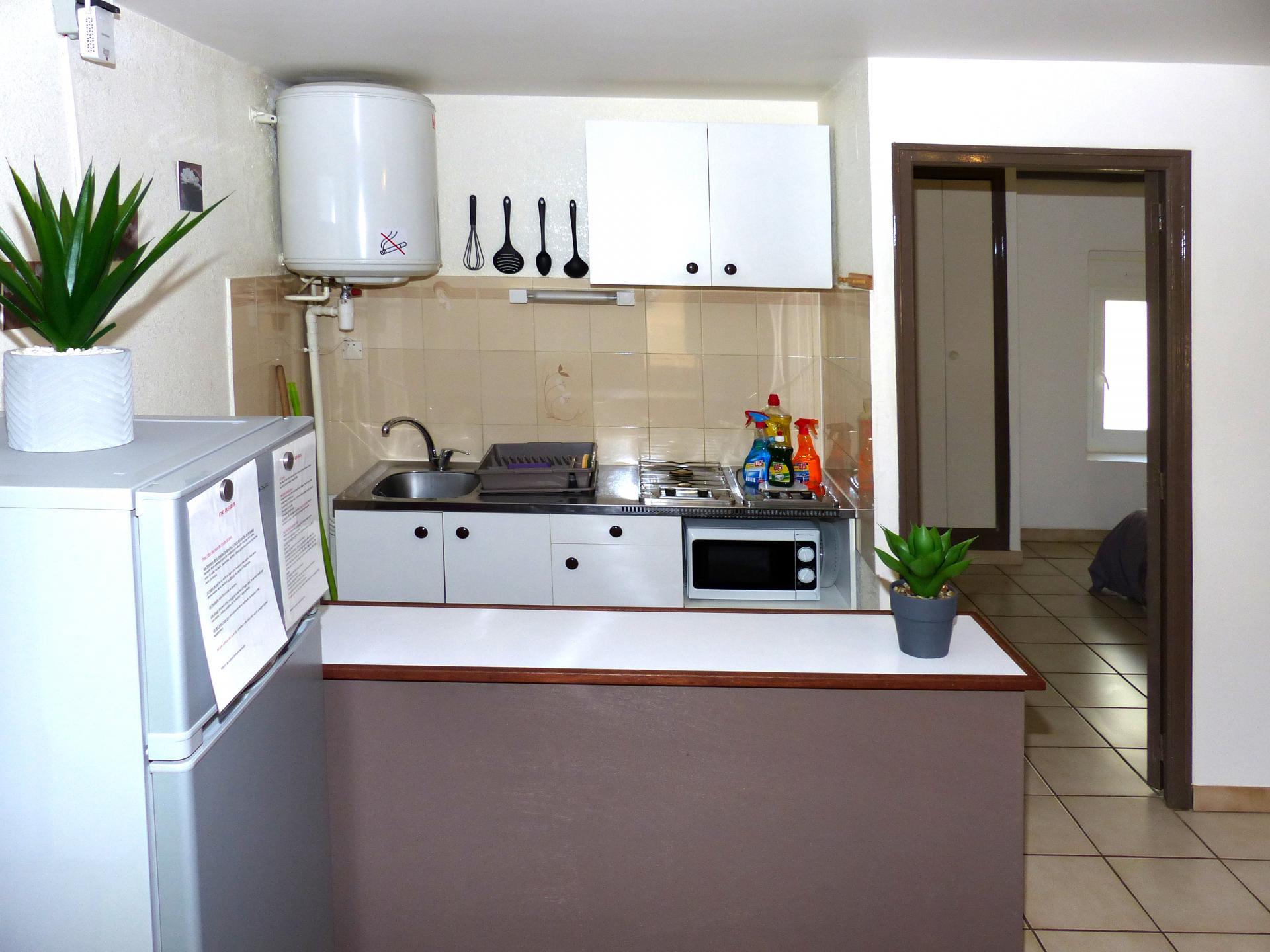 Appartement 1 chambre - Coin cuisine