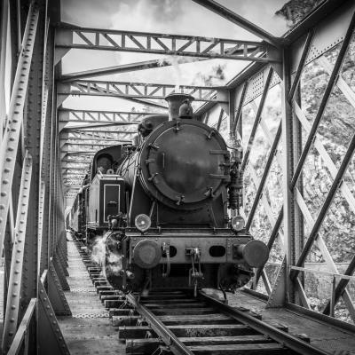 Photo loco pont metallique